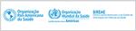 Logo do Centro Latino-Americano e do Caribe de Informação em Ciências da Saúde