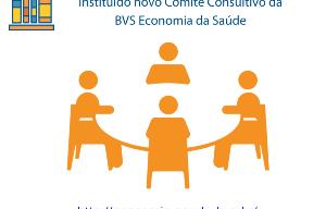 Imagem representativa do novo Comitê Consultivo da BVS Economia da Saúde